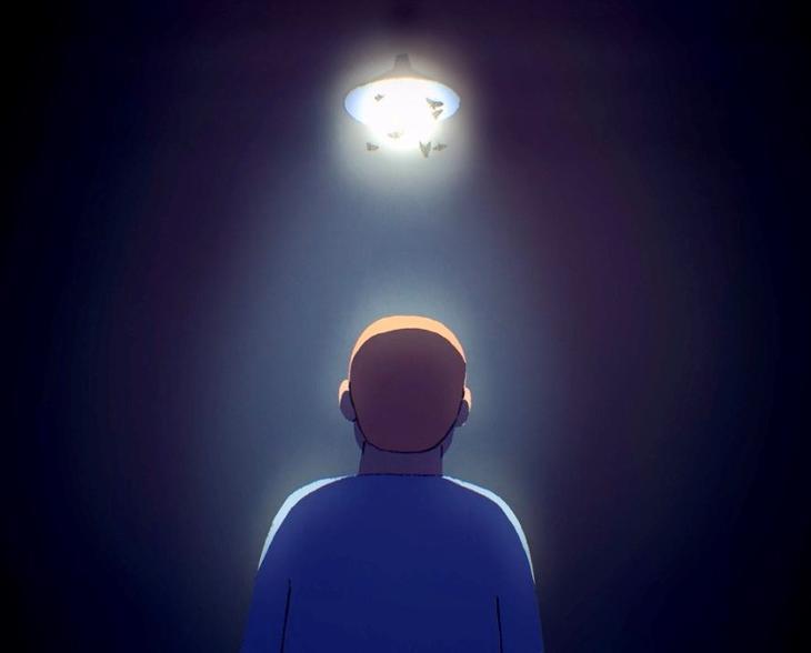 Skjermdump fra animasjonsfilmen laget av @animaskin