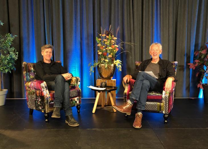 Petter Dahle, Napha og Atle Holstad, KoRus-Øst vil snakke om BrukerPlan-tall for eldre med rusproblemer og eldre med kognitive vansker. Foto: Torhild Kielland