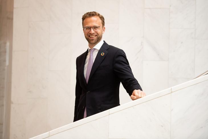 Kommunal- og moderniseringsminister Nikolai Astrup (H)