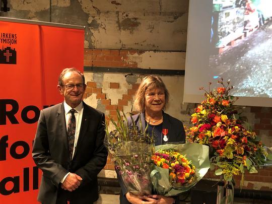 Erling Lae og Kirsten Frigstad