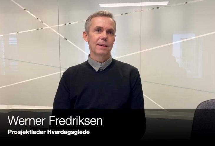 Werner Fredriksen, seniorrådgiver og prosjektleder i Rådet for psykisk helse
