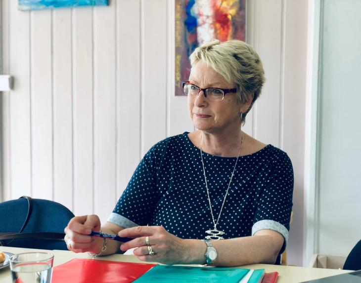 Daglig leder ved Sagatun Brukerstyrt senter Kårhild Husom Løken er fortvilet over signalene fra Hamar og Stange kommune.