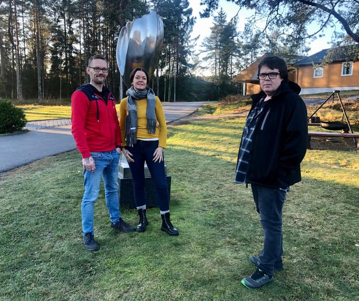 Et bedre liv - temadag med Richard og Line S. Grønlie og Tommy Sjåfjell.