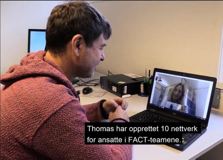 FACT-koordinator i Innlandet, Thomas Kulbrandstad.