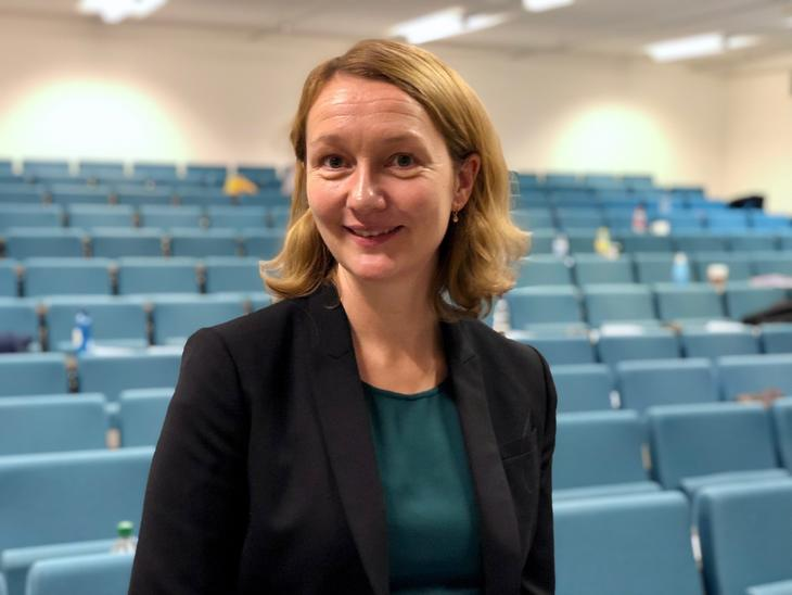 Eva Brekke etter sin disputas i 2019.