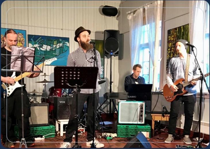 """Forsidebildet på """"Rapport i musikkterapi"""" fra Sagatun og Sykehuset Innlandet"""