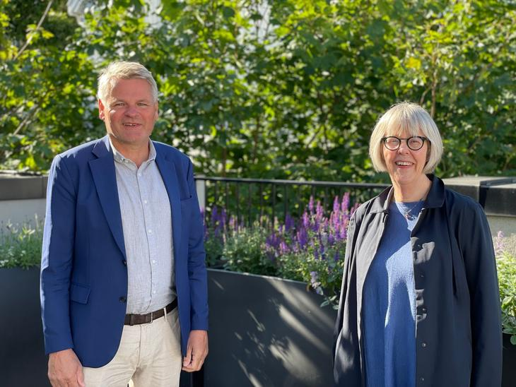 Arendalsuka 2021. Jan Gunnar Skoftedalen og Anne Grethe Erlandsen