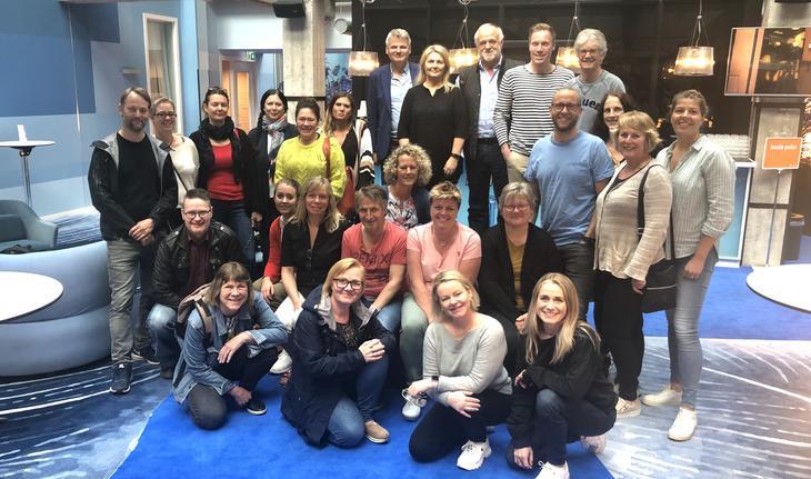 Deltakere på studieturen 2019 til Nederland
