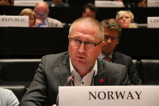 Leder i Helse- og omsorgskomiteen, Geir Jørgen Bekkevold