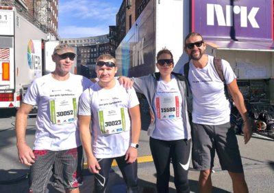 Deltakere fra fjorårets Oslo maraton