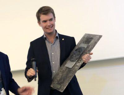Fagrådets ruspolitiske pris 2019 gikk til Erlend Horn (V)