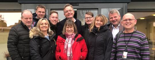 Styret besøkte Rogaland A-senter