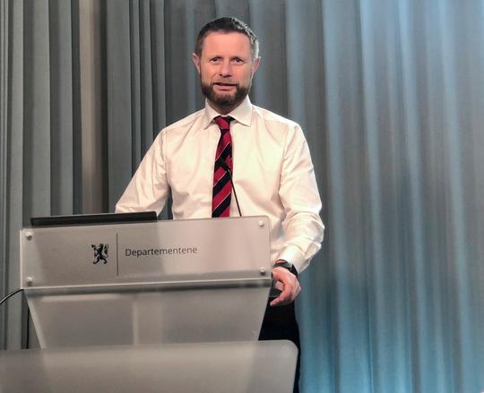 Helseminister Bent Høie foto_TKielland